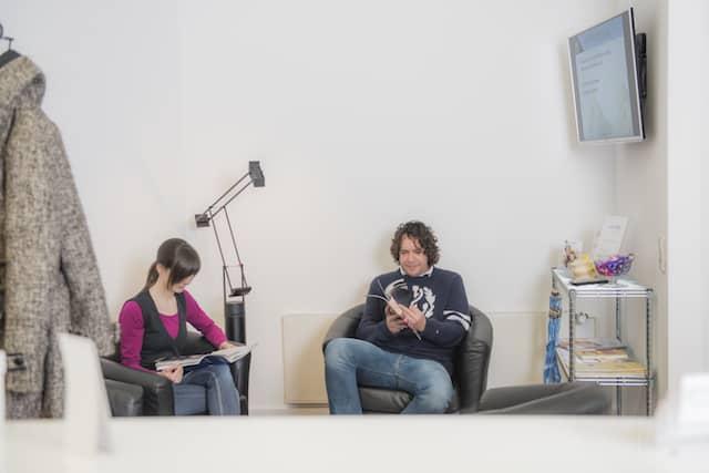 Chiropraxis Lüpken Wartezimmer