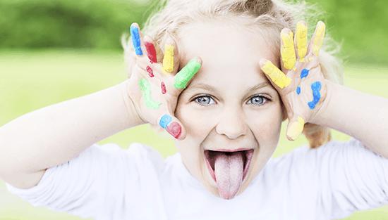 Symptome bei Kindern